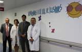 El Hospital Santa Lucía de Cartagena decora su área de Pediatría para humanizarla