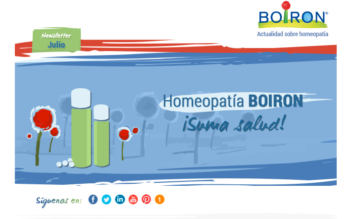 Homeopatía también en verano. Boletín Suma Salud. Julio 2015