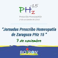 Jornadas Prescribo Homeopatía de Zaragoza PHz 15