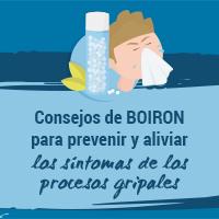 Consejos de BOIRON para prevenir y aliviar los síntomas de los procesos gripales