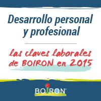 Desarrollo personal y profesional, las claves laborales de Laboratorios BOIRON en 2015