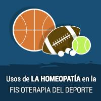 ¿Qué usos tiene la homeopatía en la fisioterapia del deporte?