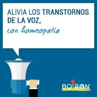 Alivia los trastornos de la voz con homeopatía