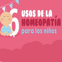 6 usos de la homeopatía para los niños