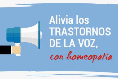 Esta primavera alza tu voz con homeopatía. Boletín Suma Salud. Abril
