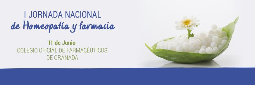 El sábado 11 de junio se celebrará la I Jornada Nacional de Homeopatía y Farmacia en el Colegio Oficial de Farmacéuticos de Granada. Contará con la presencia de distintos expertos y la experiencia personal de varios farmacéuticos.