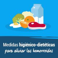 Medidas higiénico-dietéticas para aliviar las hemorroides
