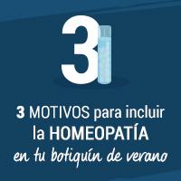 3 motivos para incluir la homeopatía en tu botiquín de verano
