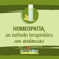 Homeopatía, un método terapéutico con evidencias