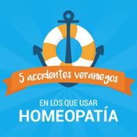 5 accidentes veraniegos en los que usar homeopatía