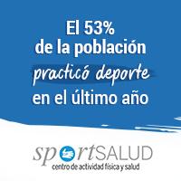 El 53% de la población practicó deporte en el último año