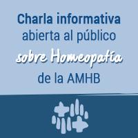 Charla informativa abierta al público sobre Homeopatía de la AMHB