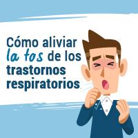 Cómo aliviar la tos de los trastornos respiratorios