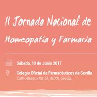 II Jornada Nacional de Homeopatía y Farmacia