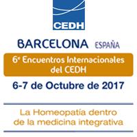 6º Encuentro Internacional del CEDH – Barcelona: La homeopatía dentro de la medicina integrativa