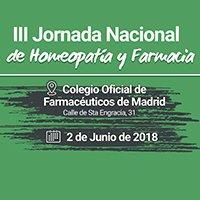 III Jornadas de Homeopatía y Farmacia