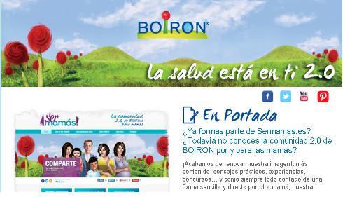 Newsletter Actualidad BOIRON. Julio 2013