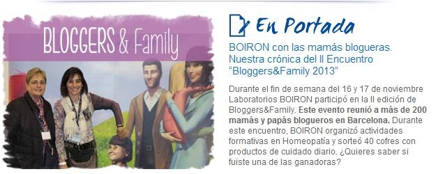 Newsletter Actualidad BOIRON. Noviembre 2013