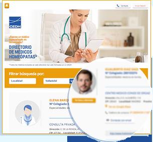 Directorio de médicos homeópatas - CEDH